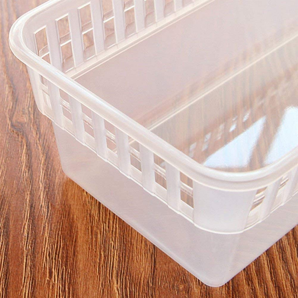 2055 Kitchen Plastic Space Saver Organizer Basket Rack- 4 pcs