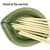 1119 Bamboo Wood Skewer BBQ Sticks (10 inch) - DeoDap