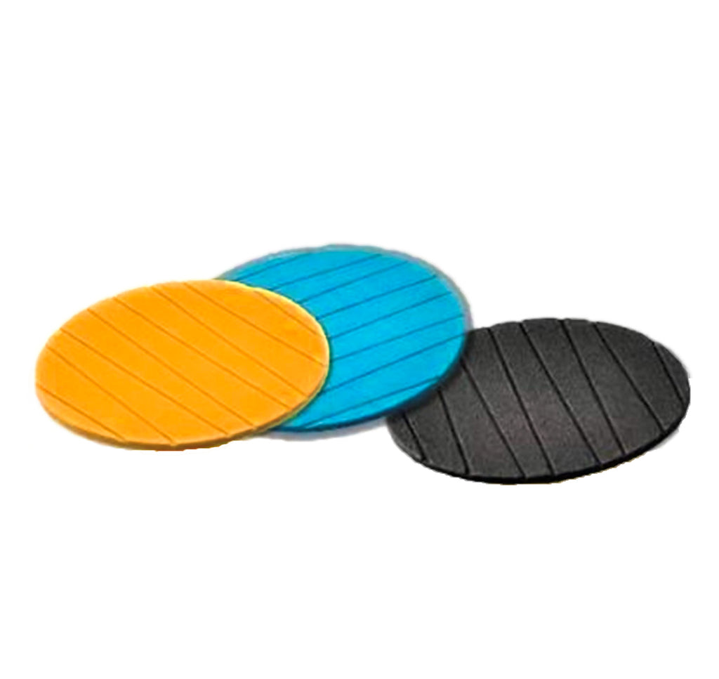 2127 Coasters Round Heat Resistant Pads Flexible for Home Kitchen Tools Tableware (3 pack)