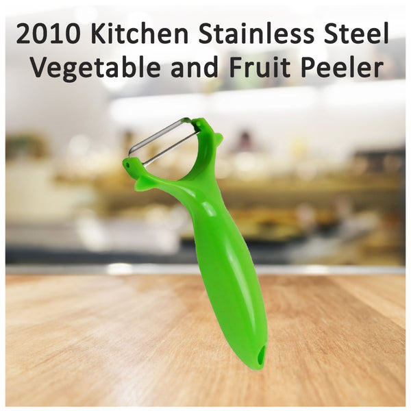 2010 Kitchen Stainless Steel Vegetable and Fruit Peeler