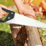 1555 Powerful Hand Saw with Hardened Steel blades 450mm - DeoDap