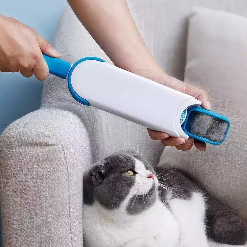 1241 Pet Hair Remover Multi-Purpose Double Sided Self-Cleaning and Reusable Pet Fur Remover
