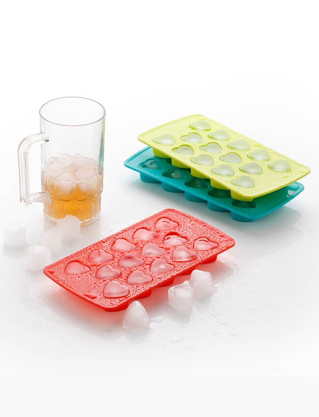 1133  Heart Shape Ice Cube Tray - DeoDap
