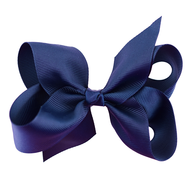 Solid Colour School Bow Large