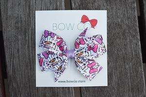 Pinwheel Grosgrain Hair Bow