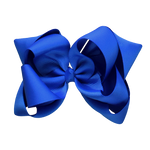 Solid Colour School Bow Double Layer
