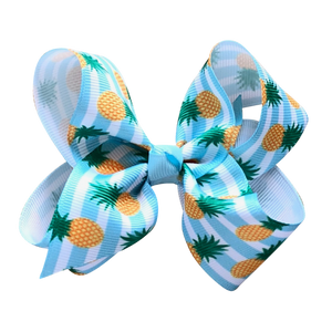 Junior Jumbo Print Grosgrain Bow