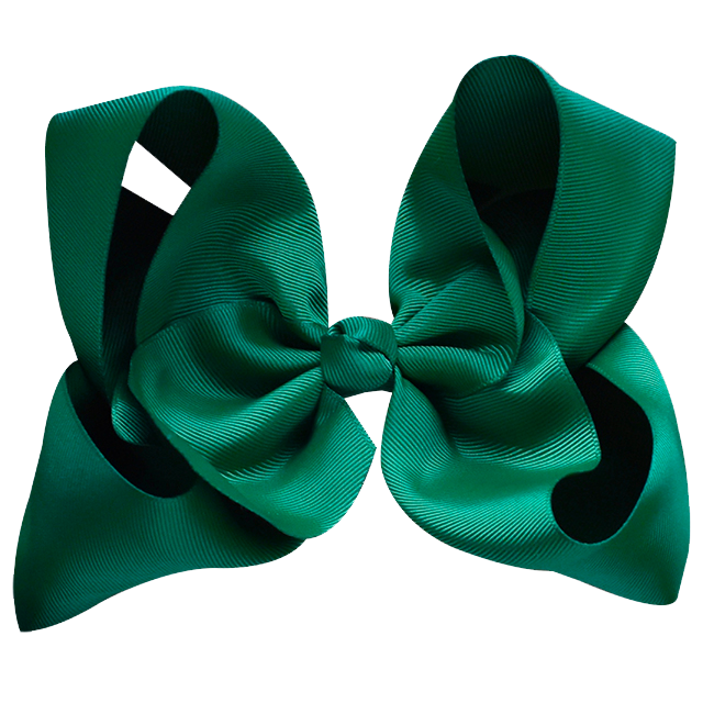 Solid Colour School Bow Jumbo
