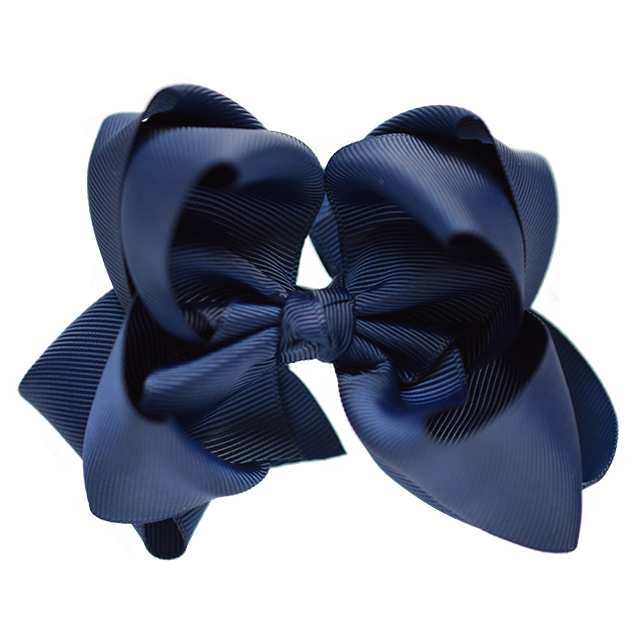 Grosgrain Ribbon Hair Bow Large Double