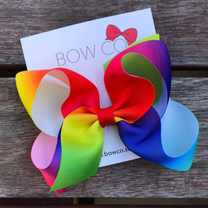 Rainbow Boutique Bow