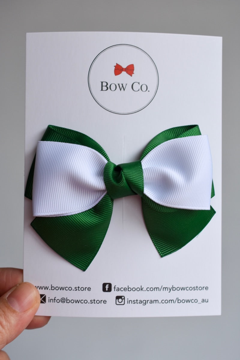 Isla Two Tone School Bow
