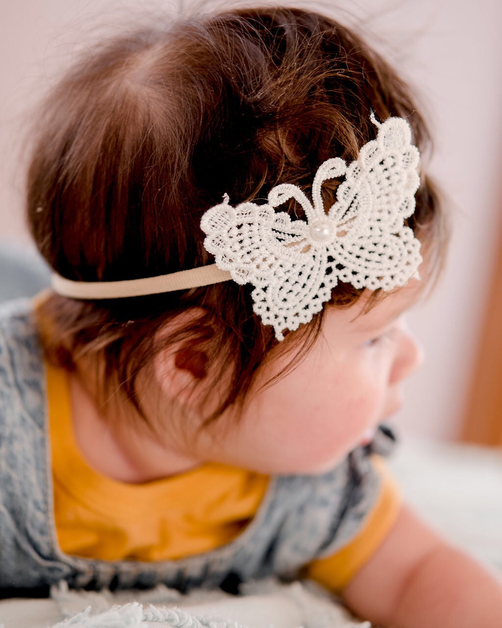 Crochet Butterfly Bow