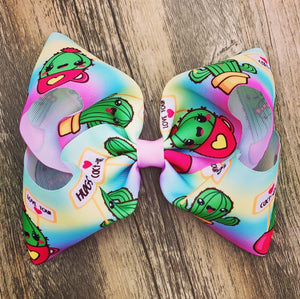 Kawaii Cactus Boutique Hair Bow