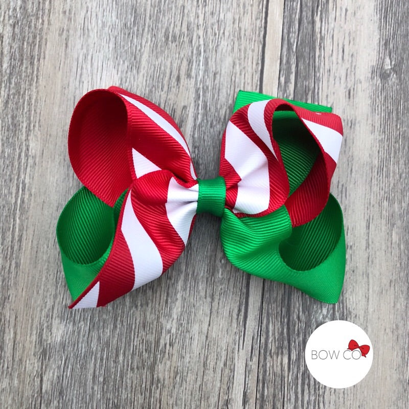 Peppermint Candy Boutique Bow