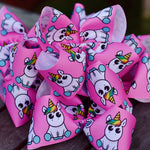 Jumbo Unicorn Magic Boutique Hair Bow