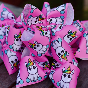 Unicorn Magic Boutique Hair Bow