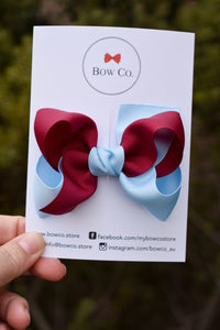Eva Two Tone School Bow