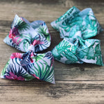 Tropical Glitter Bows