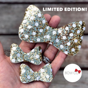 Limited Edition Gold Minnie Bow