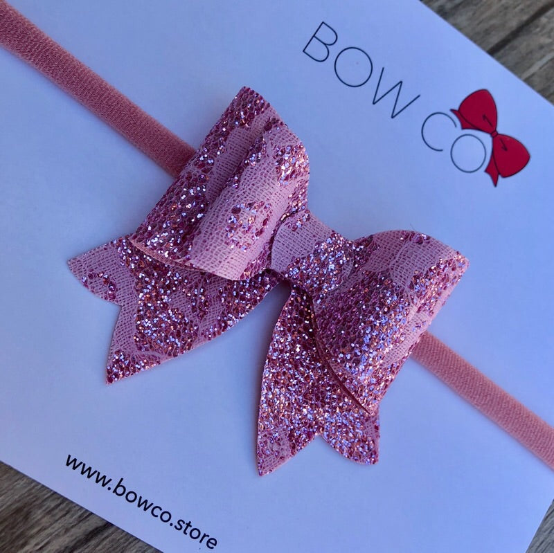 Charlotte Lace Bow