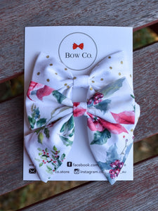 Violet Bow Set - Christmas Holly