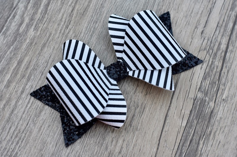 Candy Stripe Adeline Bow