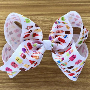 Jumbo Kawaii Popsicle Hair Bow