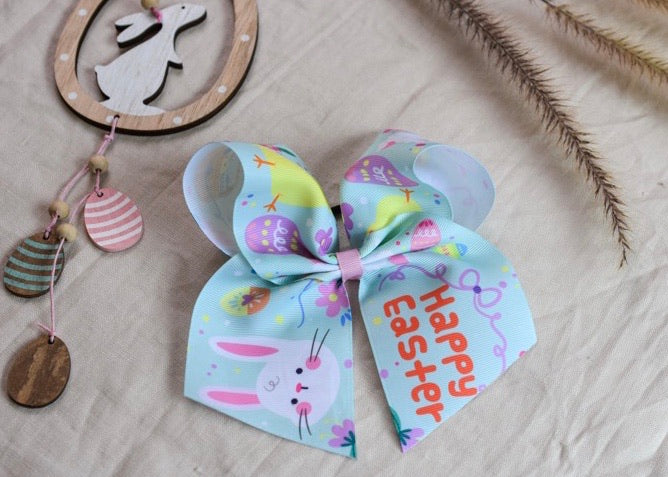 Jumbo Easter Ribbon Bow