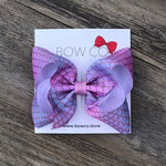 Boutique Mermaid Grosgrain Ribbon Hair Bow