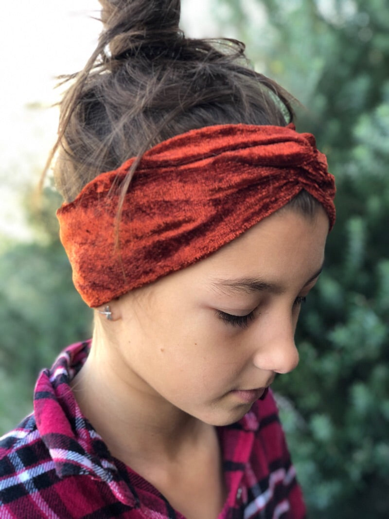 Turban Twist Headbands and Scrunchies