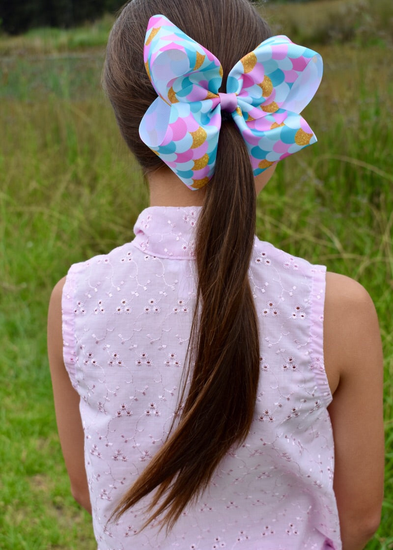 Mermaid Scales Boutique Bow