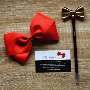 Jumbo Audrey Grosgrain Ribbon Hair Bows