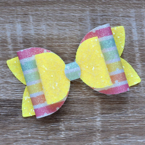 Yellow Spot Double Bow