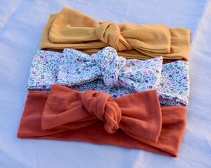 Stretch Topknot Headbands