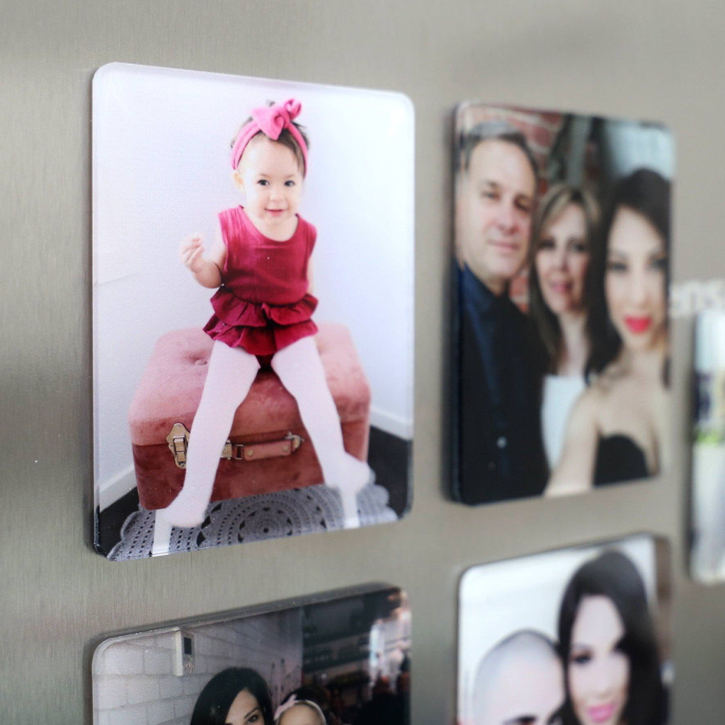 Acrylic Photo Magnet - Full Photo Borderless-Custom Fridge Magnet-CMC Gold