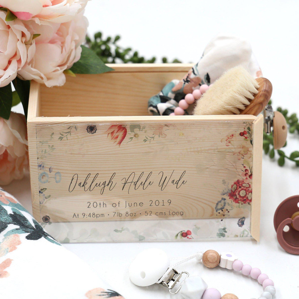 Botanical Name - Keepsake Box