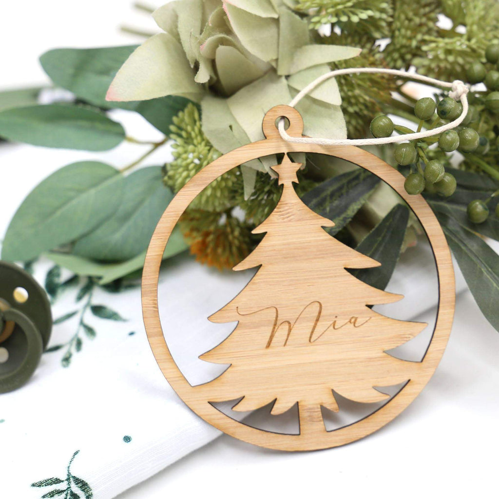Christmas Ornament - Tree Cutout-Christmas Ornament-CMC Gold