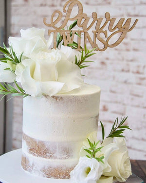 Custom Cake Toppers-Cake Topper-CMC Gold