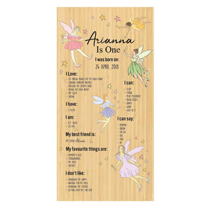 Fairy Theme Birthday Board-Birthday Board-CMC Gold