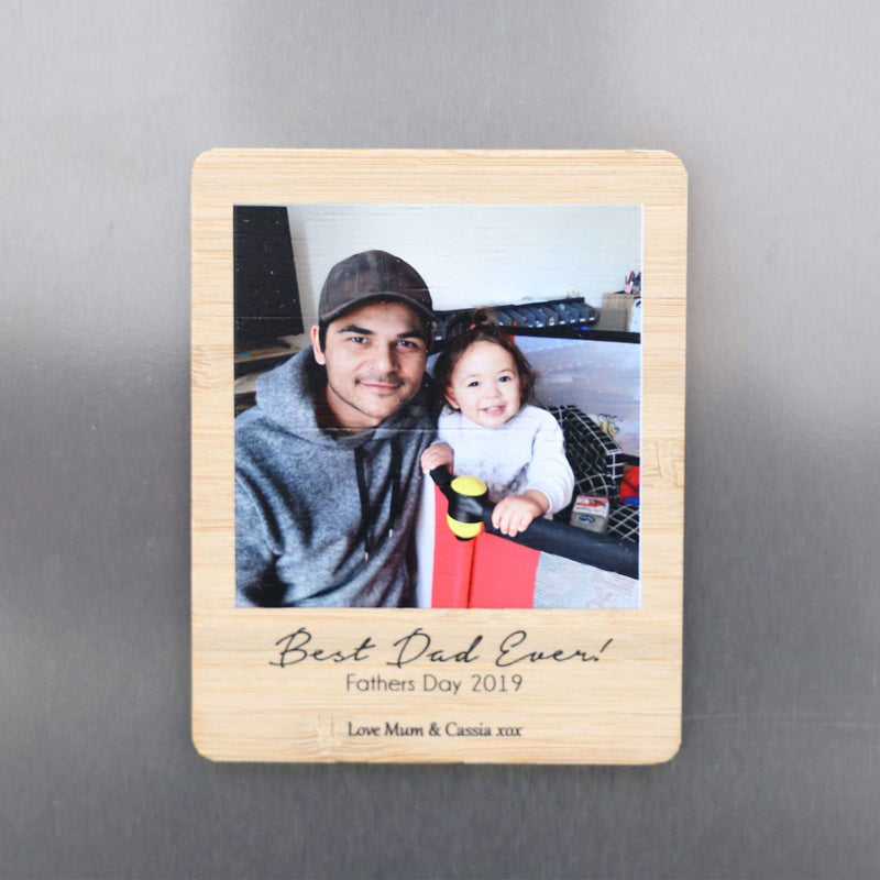 Father's Day Photo Magnet-Father's Day-CMC Gold