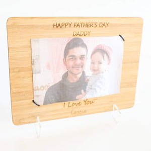 Father's Day Picture Holder - Personalised-Father's Day-CMC Gold