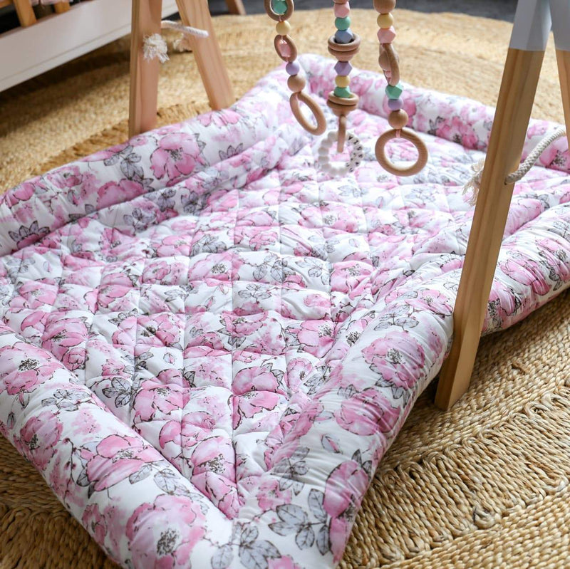 Floral Play Mat-Swaddles-CMC Gold