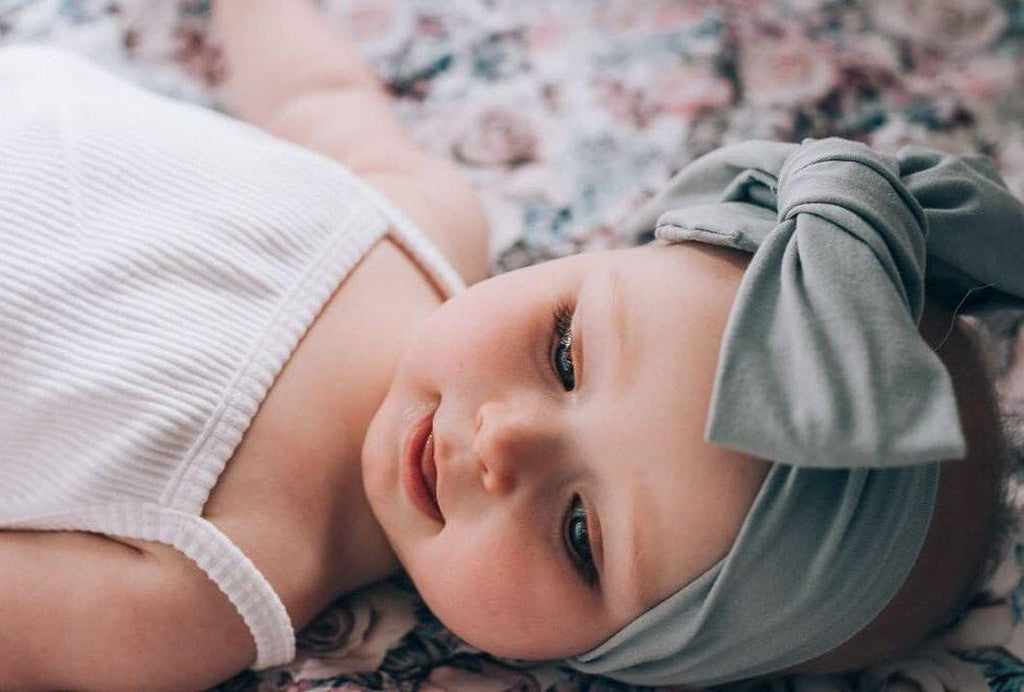 Headwrap- Mum OR 1 Year +-Top Knot Headbands-CMC Gold