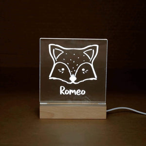 Night Lights (USB Operated) - Square Personalised