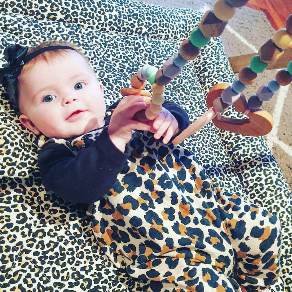 Leopard Play Mat-Swaddles-CMC Gold