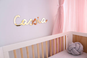 Medium Name Plaque (50cm)-Name Plaque-CMC Gold