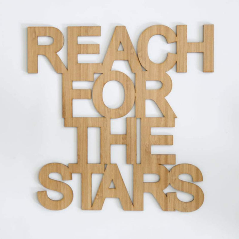Reach For The Stars Quote Decal-Quote Decal-CMC Gold