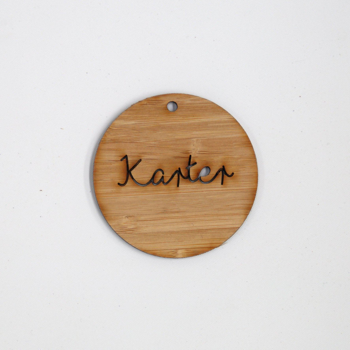 Sample / Second: Wooden Plaque