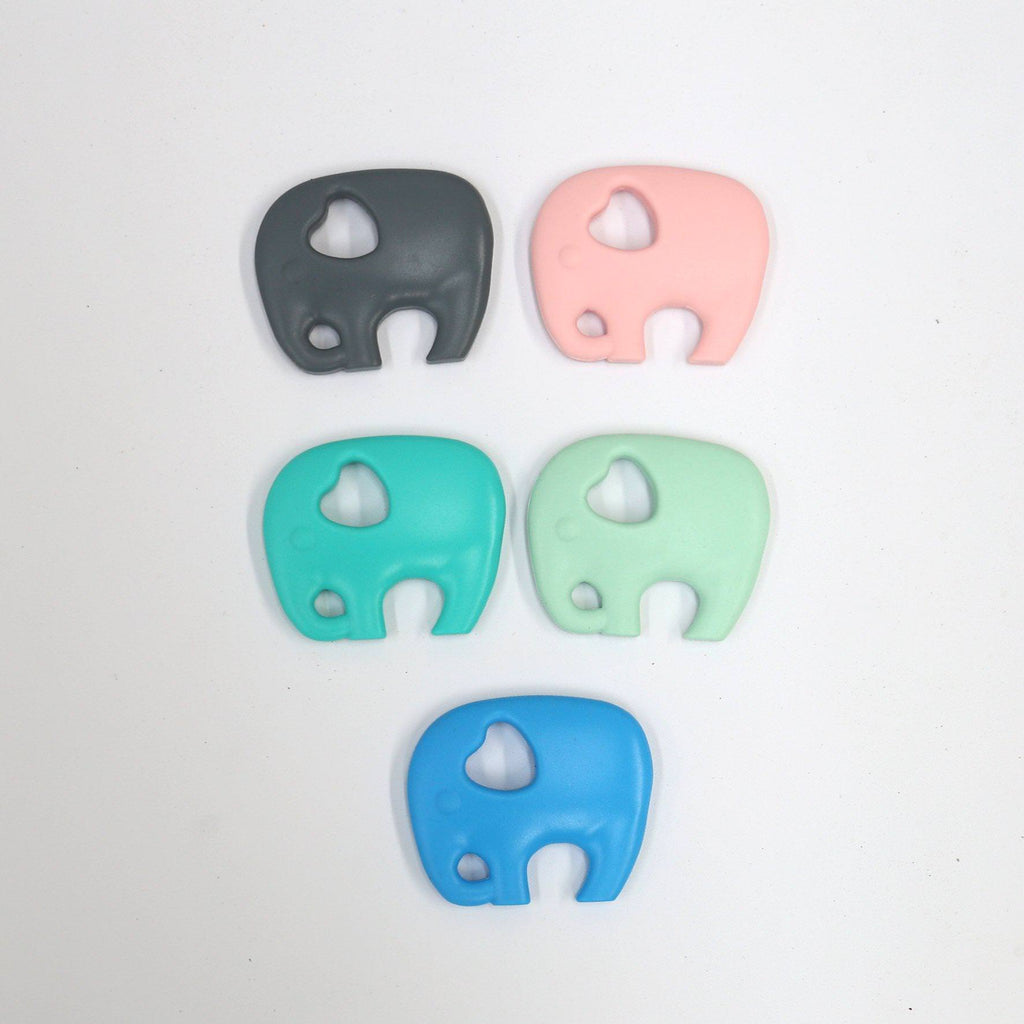 Silicone Elephant Teether-Silicone Teethers-CMC Gold