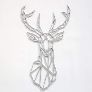 Stag Geometric Wall Decal-Geometric Wall Decal-CMC Gold